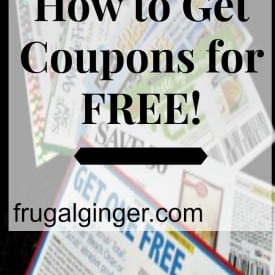 How you can get coupons for free without paying for a newspaper subscription.
