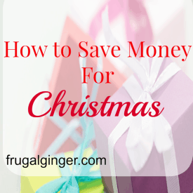 Some tips and tricks to help you start saving for your Christmas Shopping.