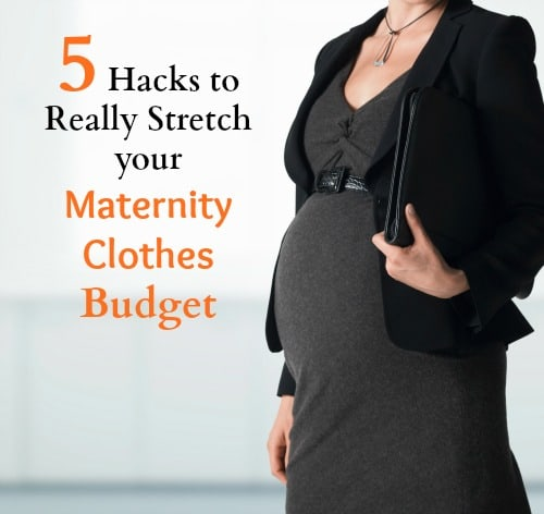 Top 5 Ways To Save On Maternity Clothes