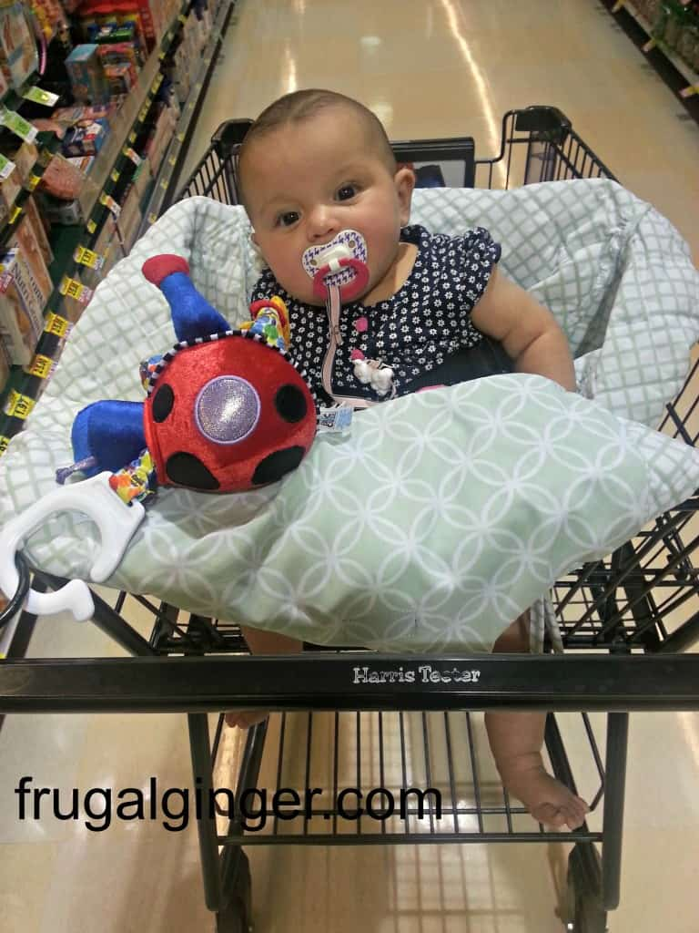 Balboa Baby Shopping Cart Cover Review Amp Giveaway