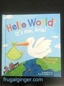 Hello World Personalized Book