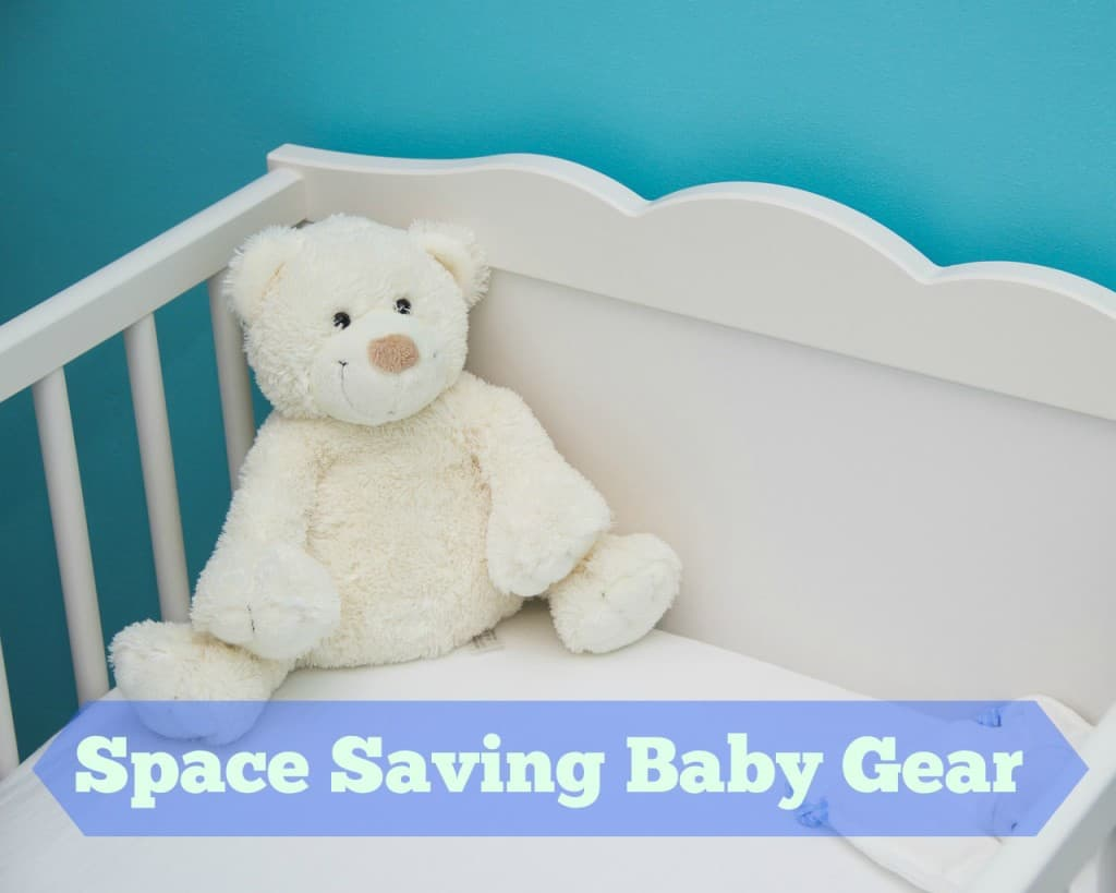 space saving baby gear