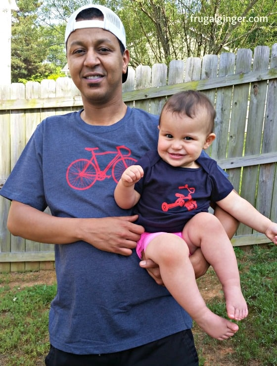 Daddy and Toddler Matching Tees