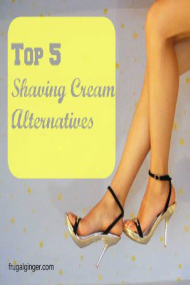 5 Shaving cream alternatives that are cheaper and more natural.