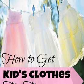 How to get kid's clothes for free or at least 90% off retail prices!