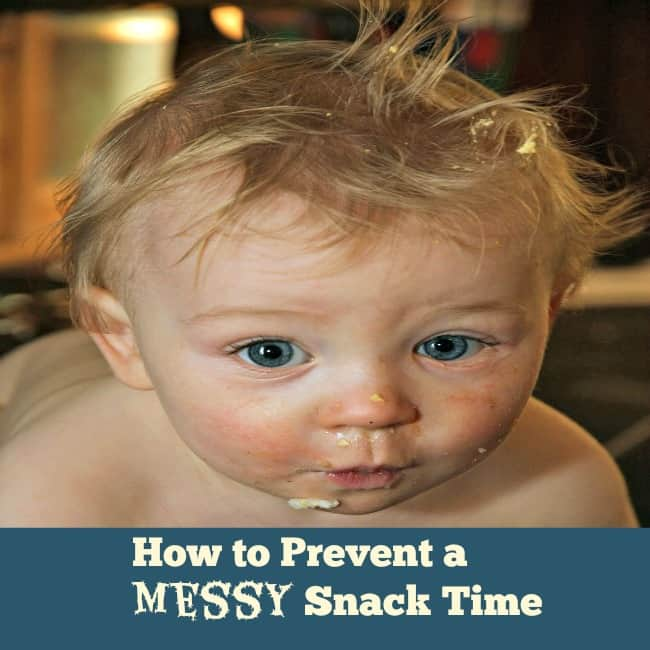 Prevent a Messy Snack Time