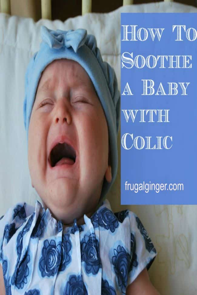 Tips to help soothe a baby with colic so you both can get some rest.