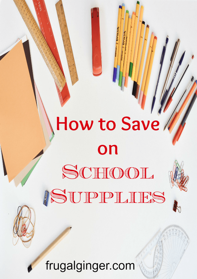 See how you can save a bundle on back to school supplies this year!