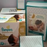Pampers Premium Care Diapers.