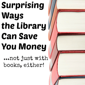 All the ways you can save by using the public library. I'm talking more than just books!!