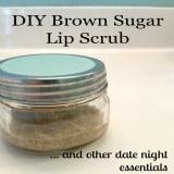 DIY Brown Sugar Lip Scrub