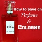 Tips to help you save money on perfume and cologne. Smell great while staying on budget!