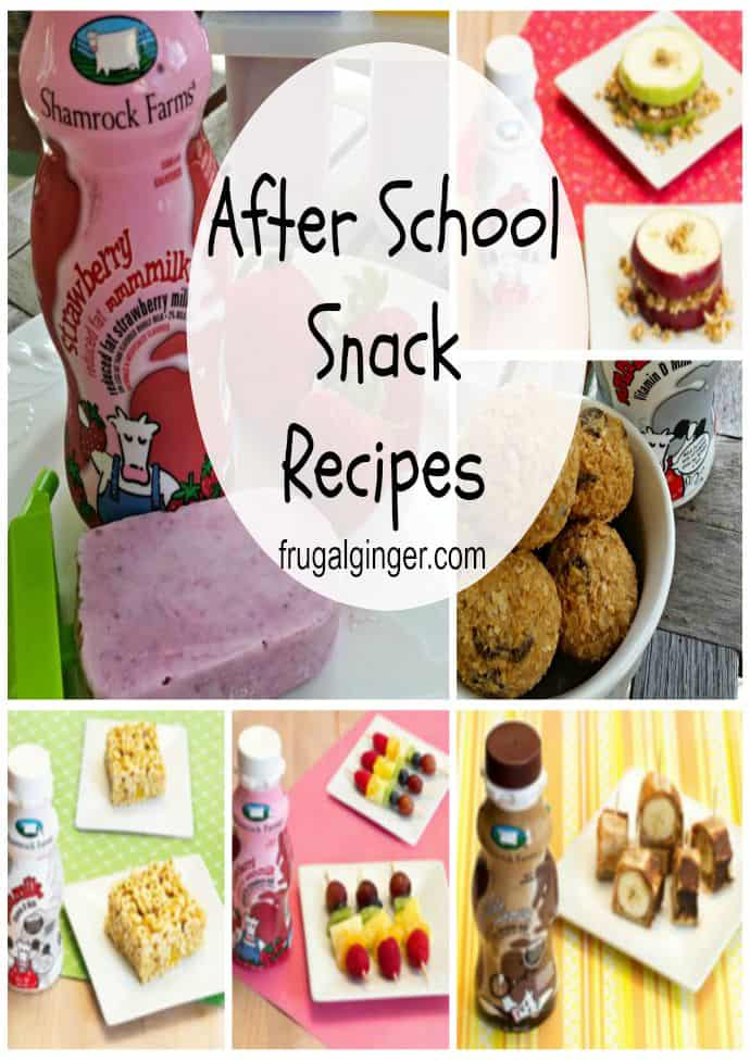 Yummy and easy Midday Snacks for kids