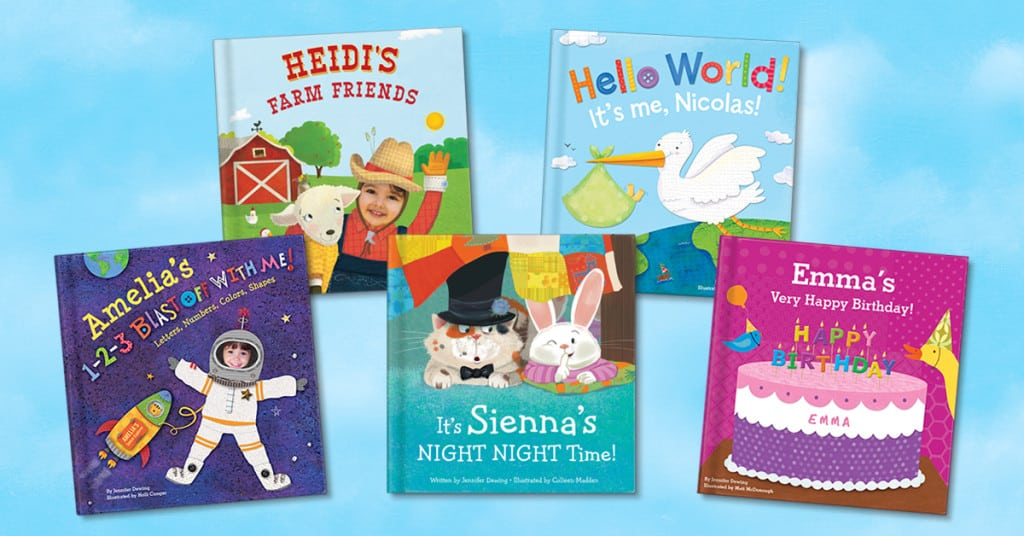 Make reading more fun with personalized board books.