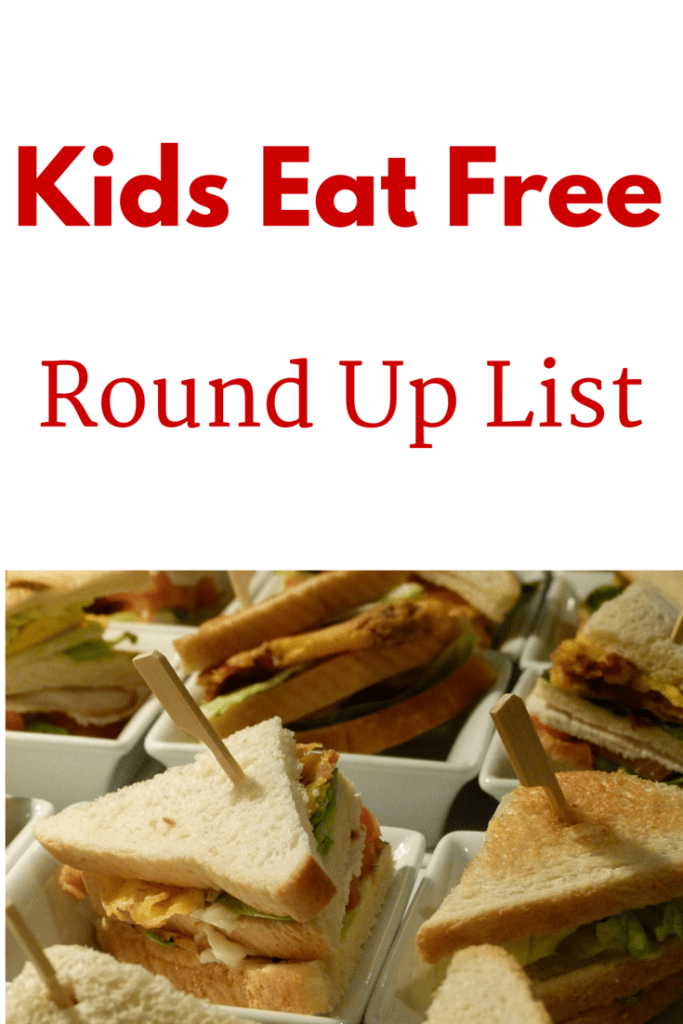 An up to date list of all the places that offer Kids Eat Free promotions. Save money while eating out.