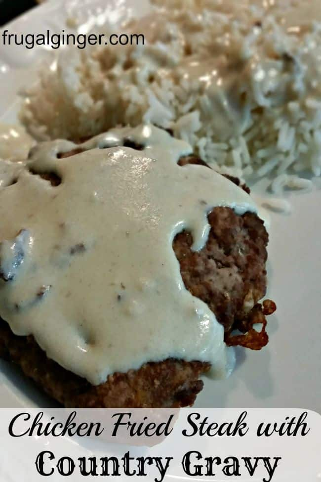 Chicken Fried Steak with Country Gravy Recipe
