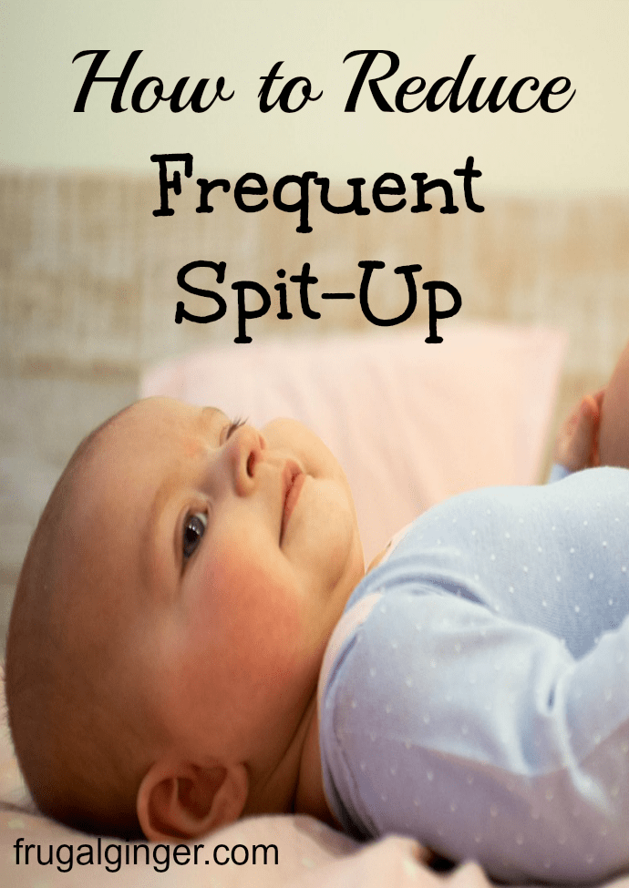 How to help your baby with frequent spit-up.