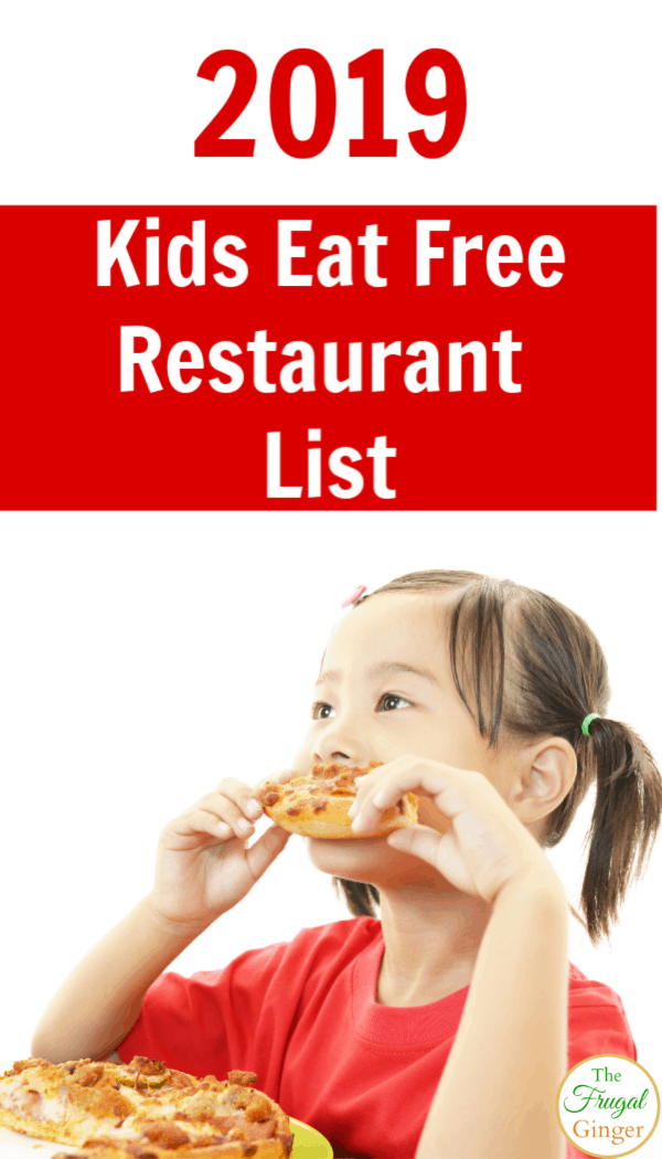Parents, make use of this kids eat free list full of restaurants your kids will love. Updated for 2019!