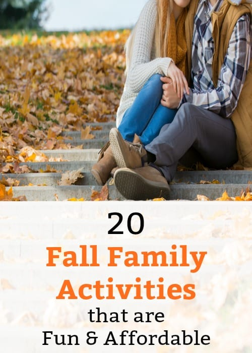 Keep everyone happy with these fun Fall family activities, most of these ideas are FREE! Perfect for couples, for families, even just to do with your boyfriend!