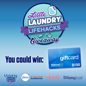 Enter to win a $150 Walmart GC and other prizes!