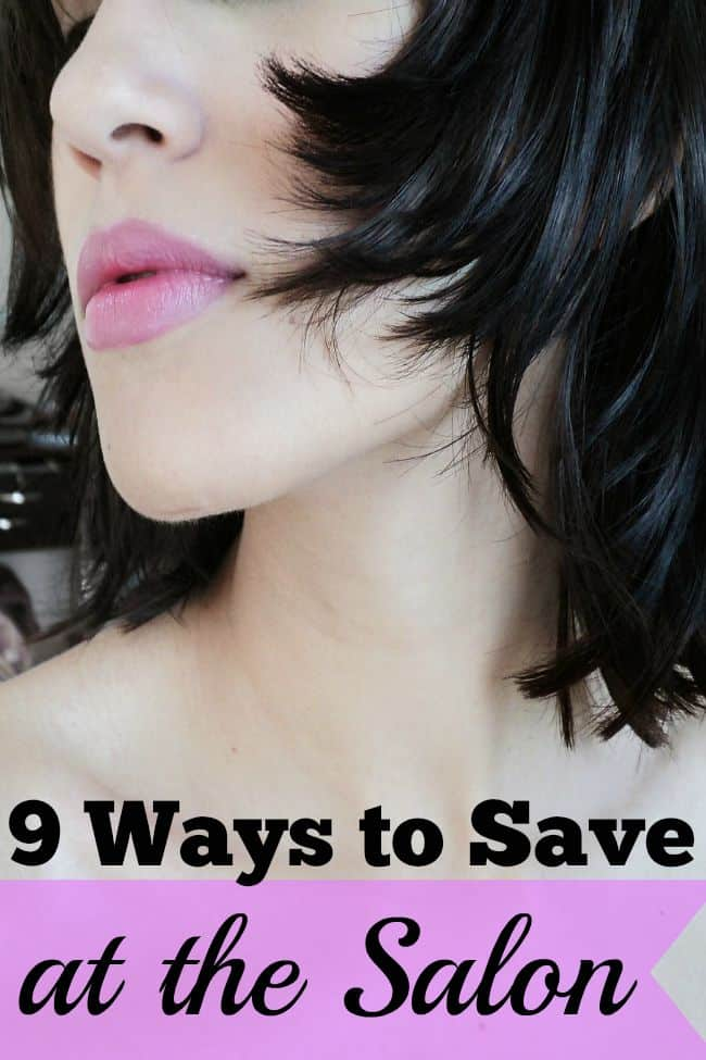 9 ways to save at the salon and on beauty treatments.