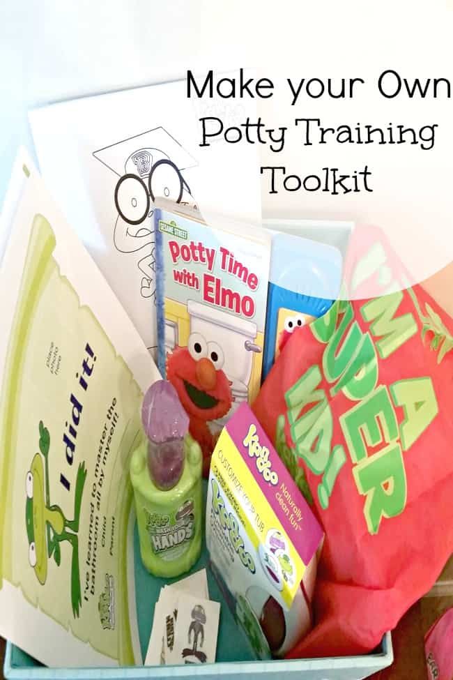 See how you can make a fun Potty training toolkit for your little one.