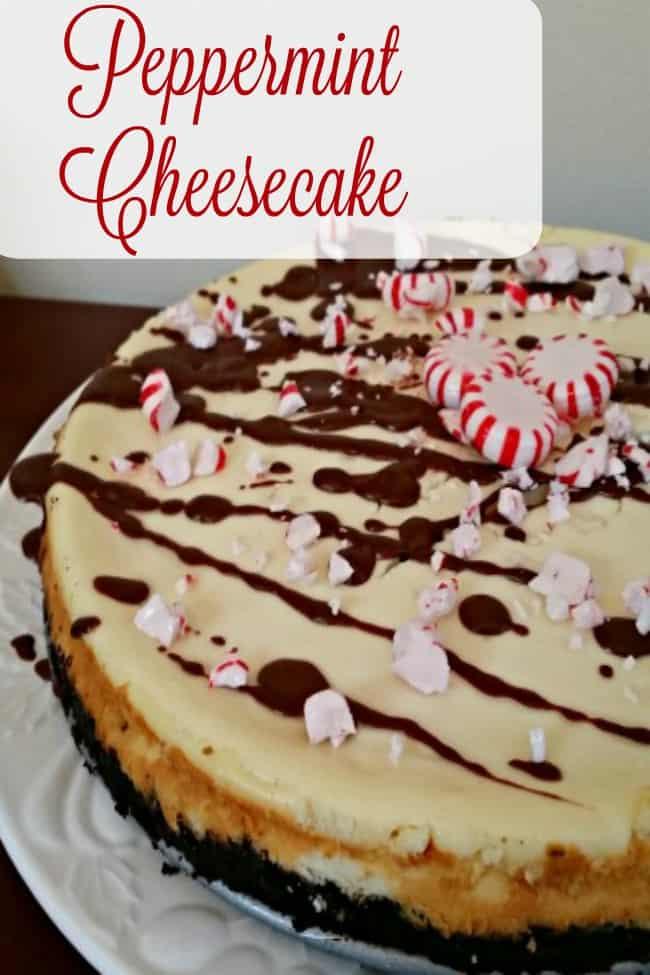 Chocolate Peppermint Cheesecake Recipe