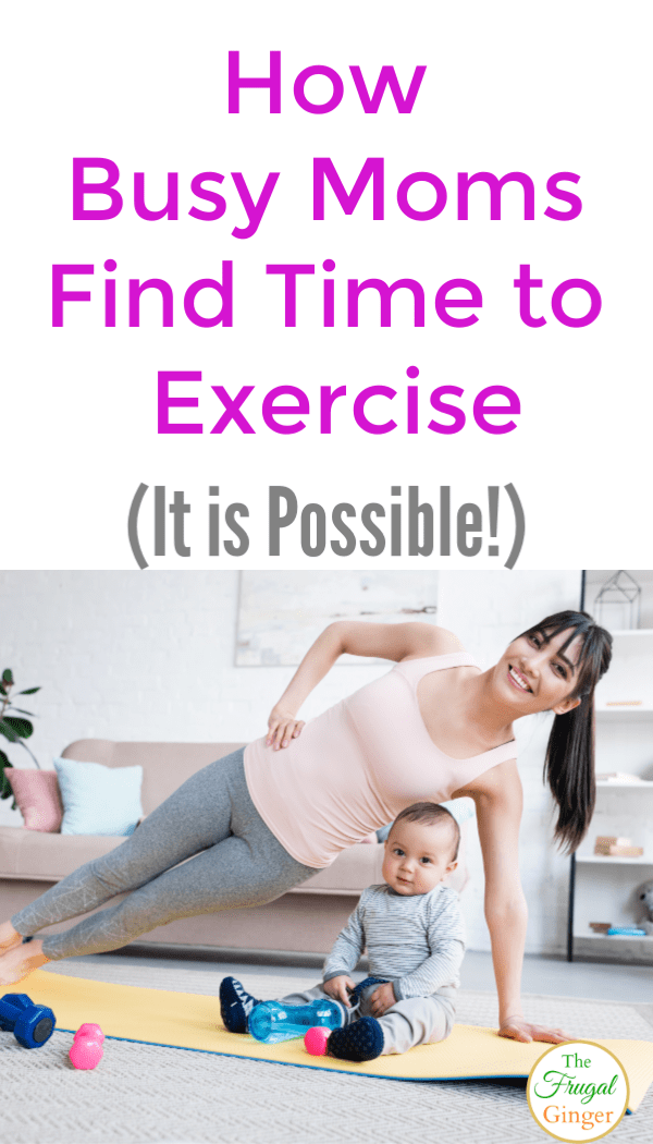 How busy moms exercise and find time to lose weight and get fit. Use these tips and ideas to create a workout schedule that is perfect for your life even with chasing after kids.