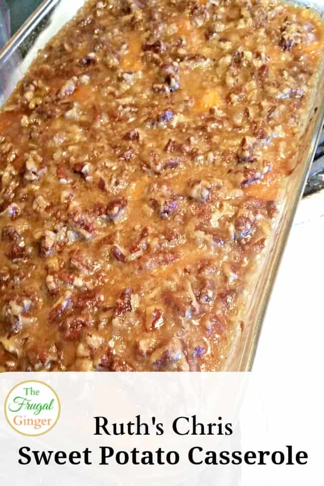 Ruth 39 s chris sweet potato casserole for Amy ruth s home style southern cuisine