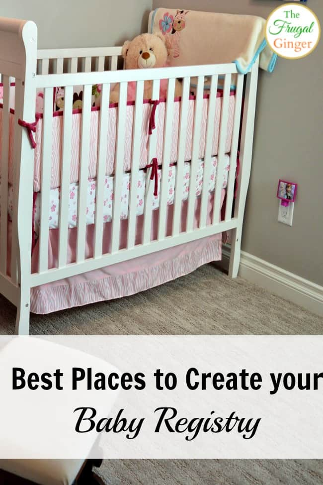 The top 4 places to create your baby registry. The perks and rewards are awesome!