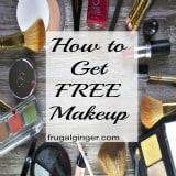 How to Get Free Makeup