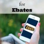 Money Saving Hacks for Ebates