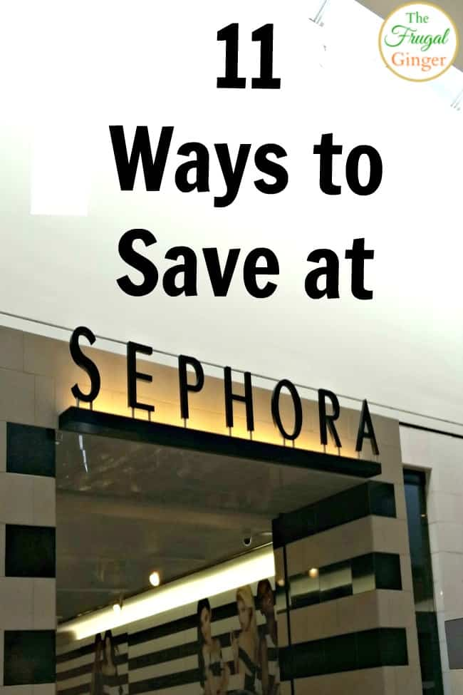 Use these tips and tricks to save money at Sephora and get your favorite must haves. Secrets to save on makeup, skin care, and hair care.