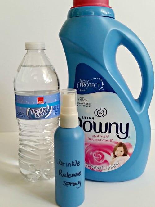 diy wrinkle releaser spray