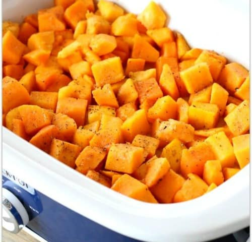 slow cooker butternut squash