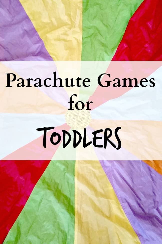 parachute games for toddlers