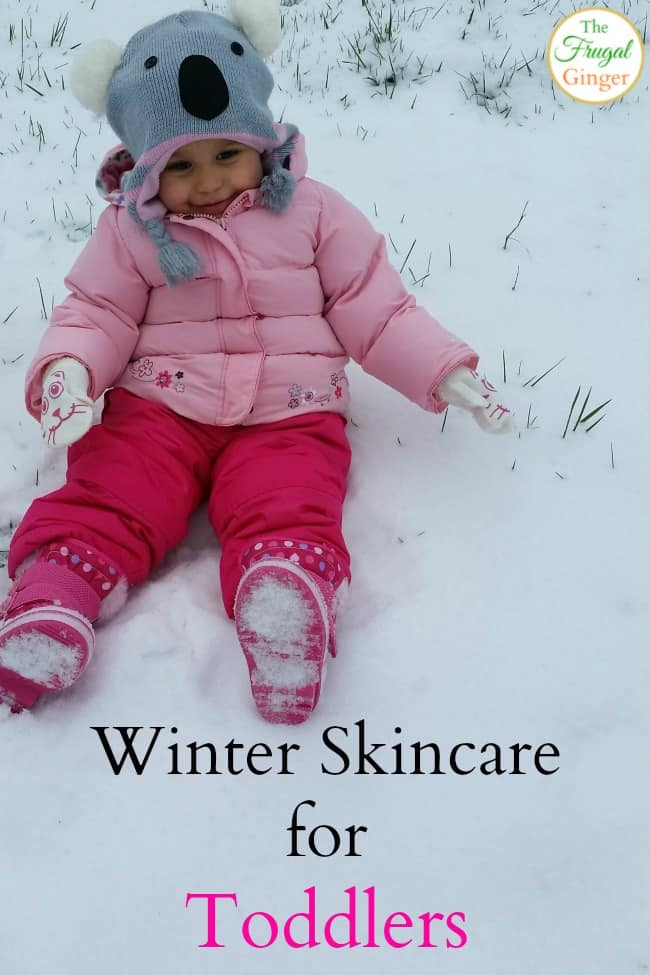 winter skincare for toddlers