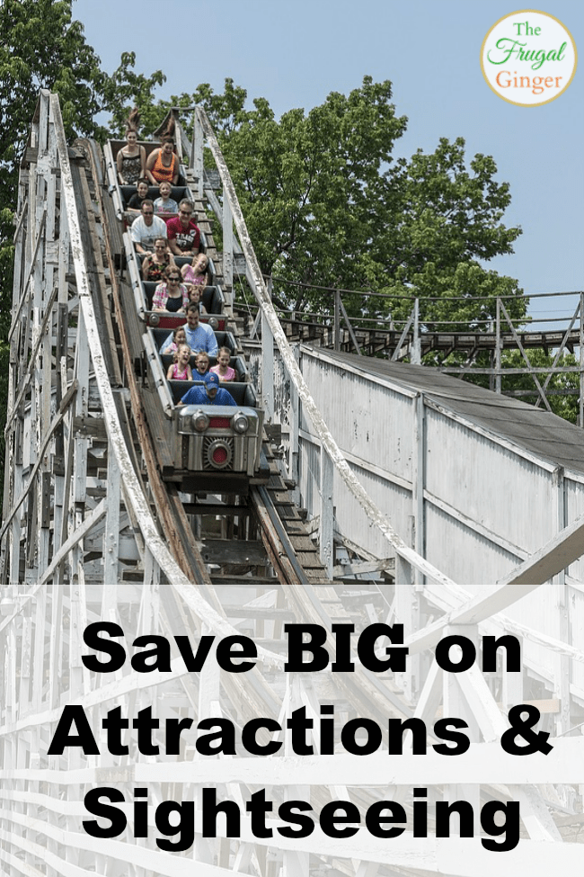 save on attractions and sightseeing