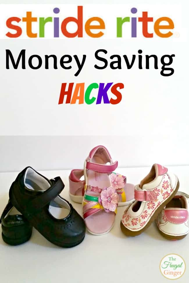 stride rite money saving hacks