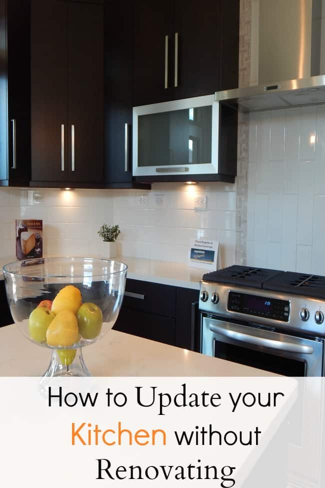 Cheap ways to update your kitchen without remodeling for Updated kitchen remodels