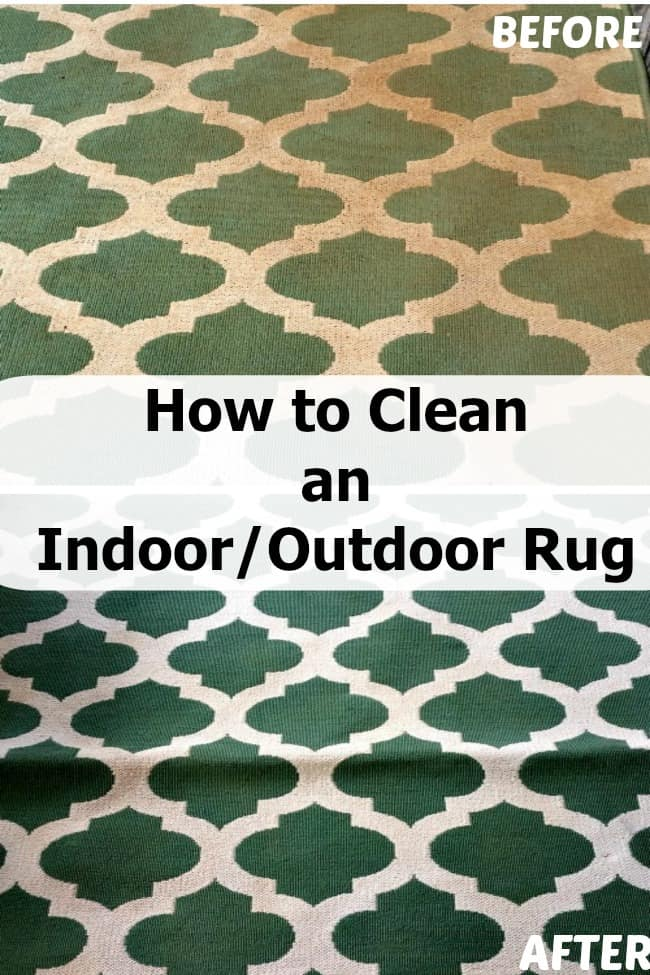 How to Clean an Indoor/Outdoor Area Rug