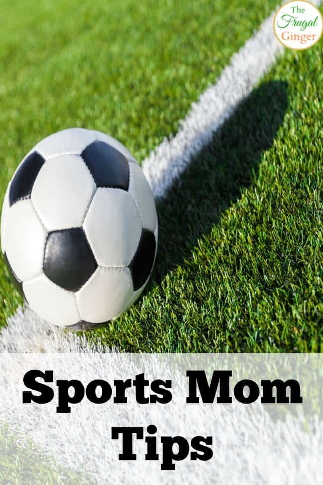 Sports mom tips