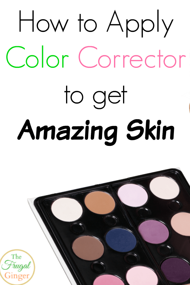 how to apply color corrector