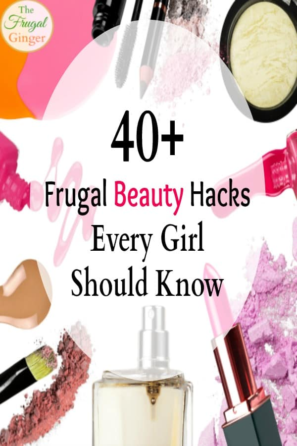frugal beauty hacks