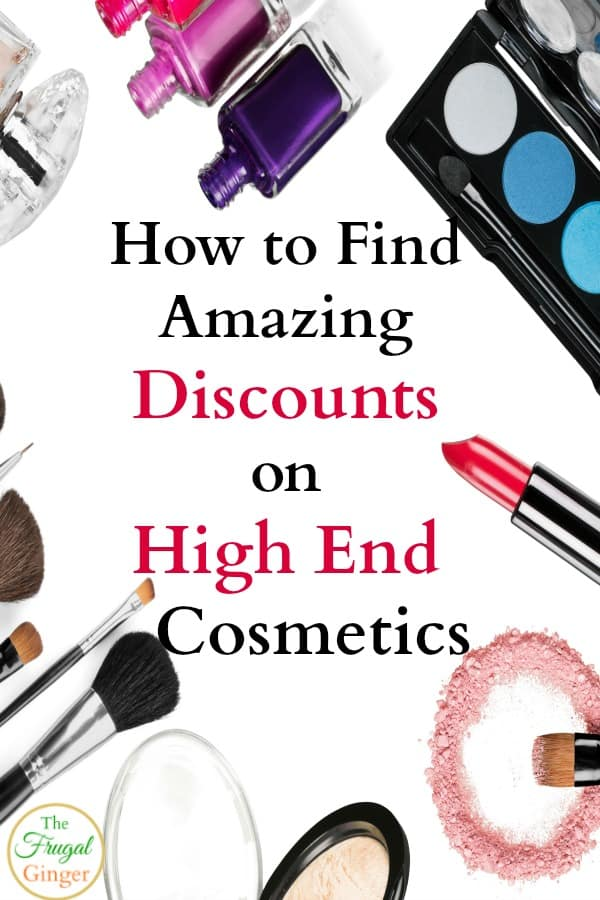 discounts on high end cosmetics
