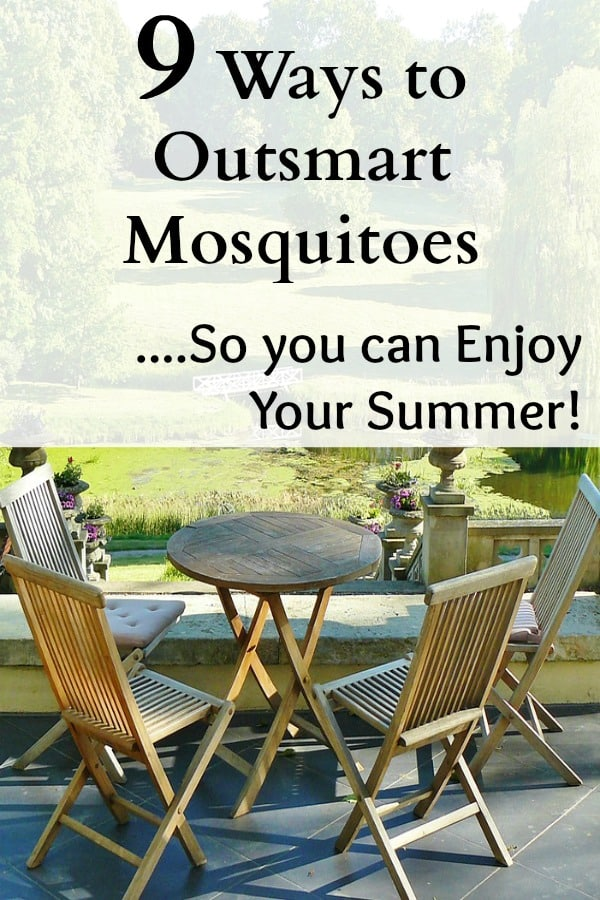 outsmart mosquitoes