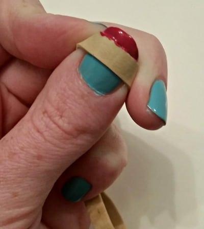 rubberband nail hack