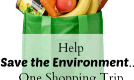 Save the Environment One Shopping Trip at a Time