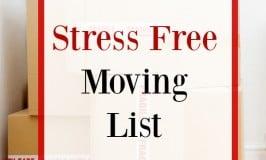Stress Free Moving List