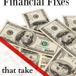 Quick Financial Fixes that Take Less than 15 Minutes!